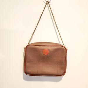 Vintage Fendi Brown Shoulder Bag